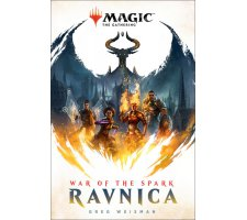 Magic Novel: War of the Spark - Ravnica (hard cover)