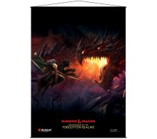 Wall Scroll Adventures in the Forgotten Realms: Drizz't Key Art
