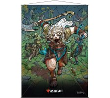Wall Scroll: War of the Spark Stained Glass Ajani