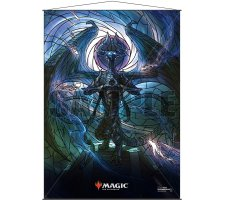 Wall Scroll: War of the Spark Stained Glass Nicol Bolas
