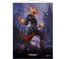 Wall Scroll: War of the Spark Stained Glass Chandra