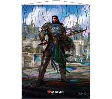 Wall Scroll: War of the Spark Stained Glass Gideon