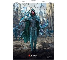Wall Scroll: War of the Spark Stained Glass Jace