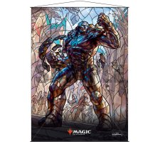Wall Scroll: War of the Spark Stained Glass Karn