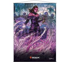 Wall Scroll: War of the Spark Stained Glass Liliana