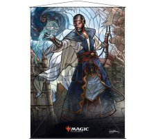 Wall Scroll: War of the Spark Stained Glass Teferi