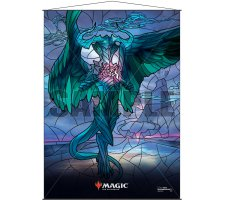 Wall Scroll: War of the Spark Stained Glass Ugin