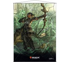 Wall Scroll: War of the Spark Stained Glass Vivien