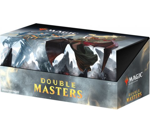 Boosterbox Double Masters (+ 2 free promo packs)
