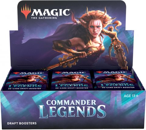 Draft Boosterbox Commander Legends