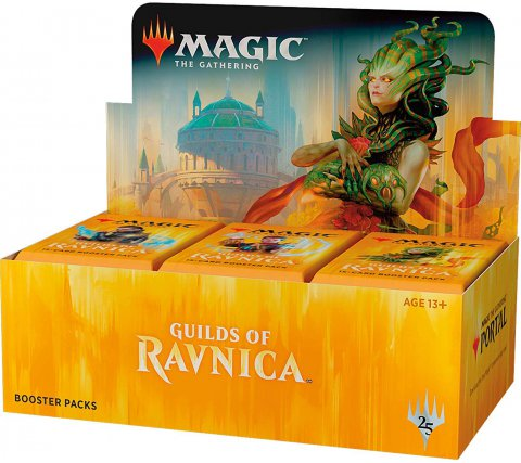 Boosterbox Guilds of Ravnica (+ gratis Planeswalker Pack)