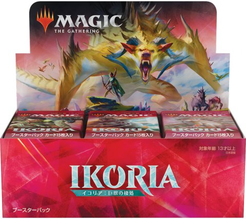 Boosterbox Ikoria: Lair of Behemoths (incl. box topper) (Japanese)