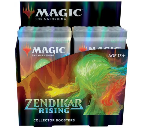 Collector Boosterbox Zendikar Rising (incl. 2 box toppers)