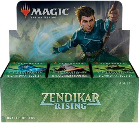 Draft Boosterbox Zendikar Rising (incl. box topper)