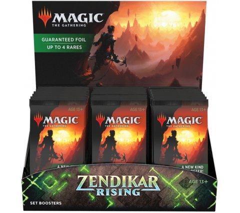 Set Boosterbox Zendikar Rising (incl. box topper)