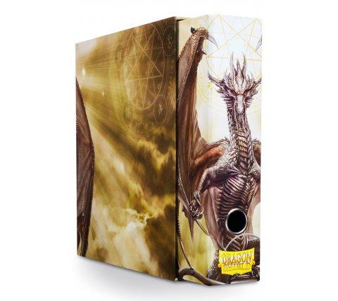 Dragon Shield Slipcase Album Dragon Art White