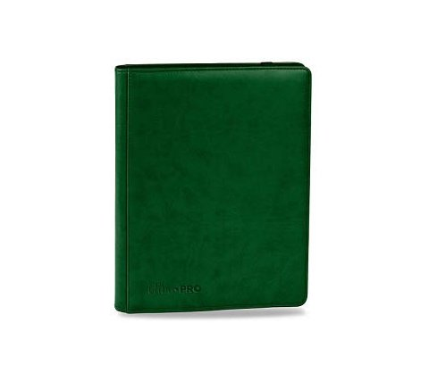 Premium Pro 9 Pocket Binder Green