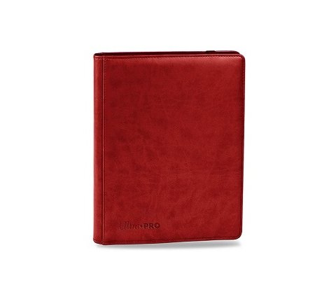 Premium Pro 9 Pocket Binder Red