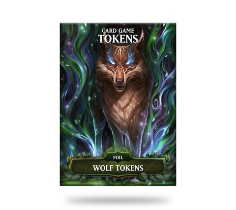 Card Game Tokens Booster: Premium Wolf Tokens