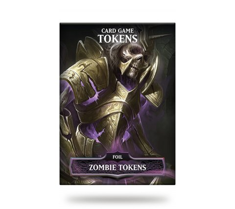 Card Game Tokens Booster: Premium Zombie Tokens