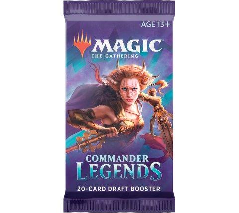 Draft Booster Commander Legends