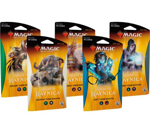 Theme Booster Guilds of Ravnica (set van 5)