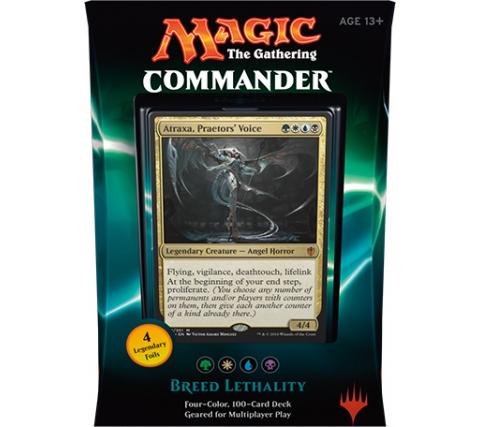 Commander 2016: Breed Lethality (Green, White, Blue, Black)