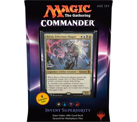 Commander 2016: Invent Superiority (White, Blue, Black & Red)