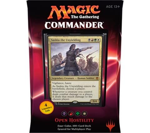 Commander 2016: Open Hostility (Black, Red, Green & White)