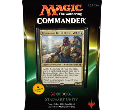 Commander 2016: Stalwart Unity (Red, Green, White & Blue)