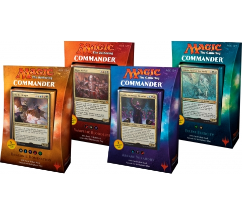 Commander 2017 complete set decks