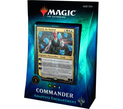 Commander 2018: Adaptive Enchantment (Green, White & Blue)
