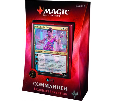 Commander 2018: Exquisite Invention (Blue & Red)