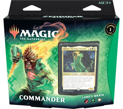 Commander Zendikar Rising: Land's Wrath