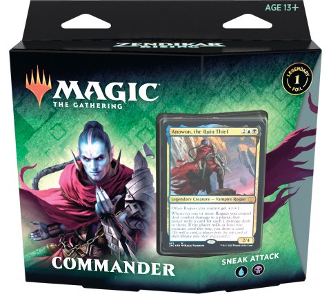 Commander Zendikar Rising: Sneak Attack