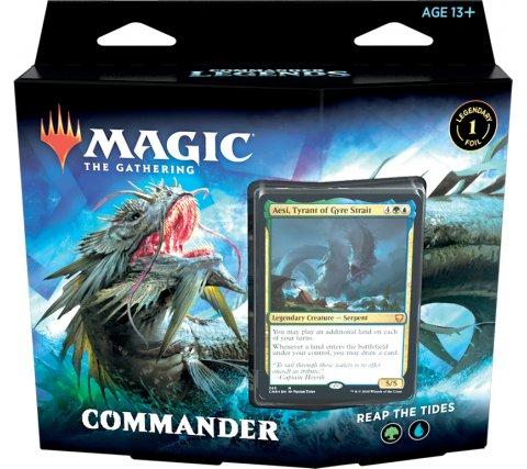 Commander Deck Commander Legends: Reap the Tides