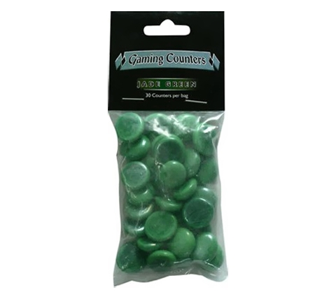 Gaming Counters: Jade Green