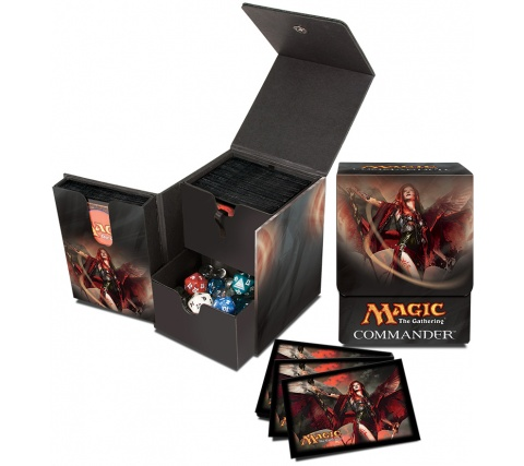 Deckbox + Sleeves Kaalia of the Vast