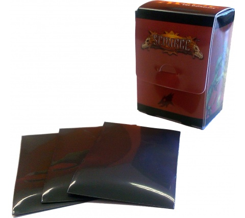 Deckbox + Sleeves Scourge