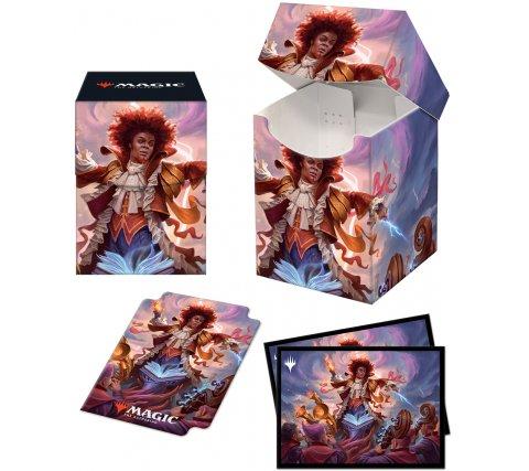 Deckbox + Sleeves Commander 2021: Zaffai, Thunder Conductor