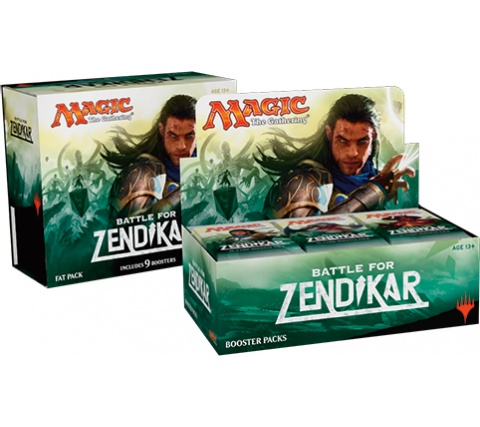 Boosterbox + Fat Pack Battle for Zendikar