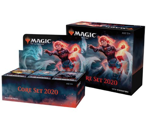 Boosterbox + Bundle Core Set 2020