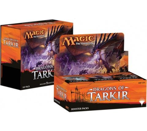 Boosterbox + Fat Pack Dragons of Tarkir