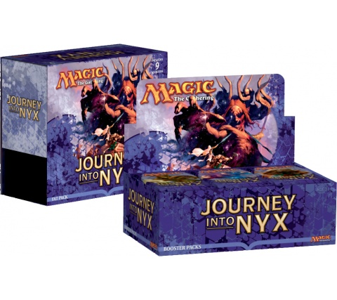 Boosterbox + Fat Pack Journey into Nyx