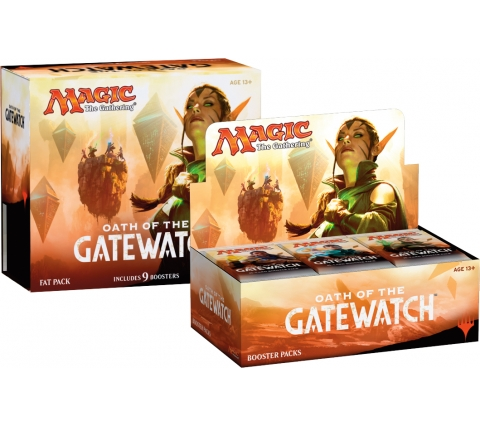 Boosterbox + Fat Pack Oath of the Gatewatch