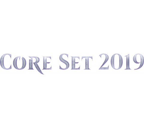 Magic Card Box Core Set 2019