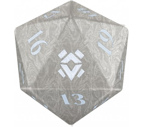 Oversized Spindown Die D20 Gift Edition Zendikar Rising