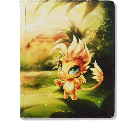 Dragon Shield Card Codex 360 Pocket Portfolio Yellow: Dorna