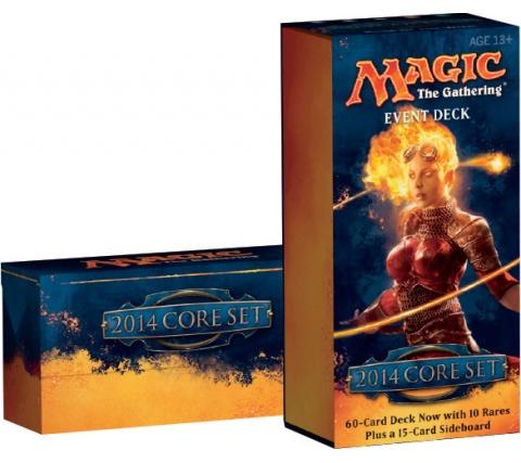 Event Deck Magic 2014 (M14): Rush of the Wild