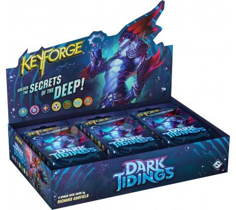 KeyForge Archon Deck Display: Dark Tidings (12 decks)